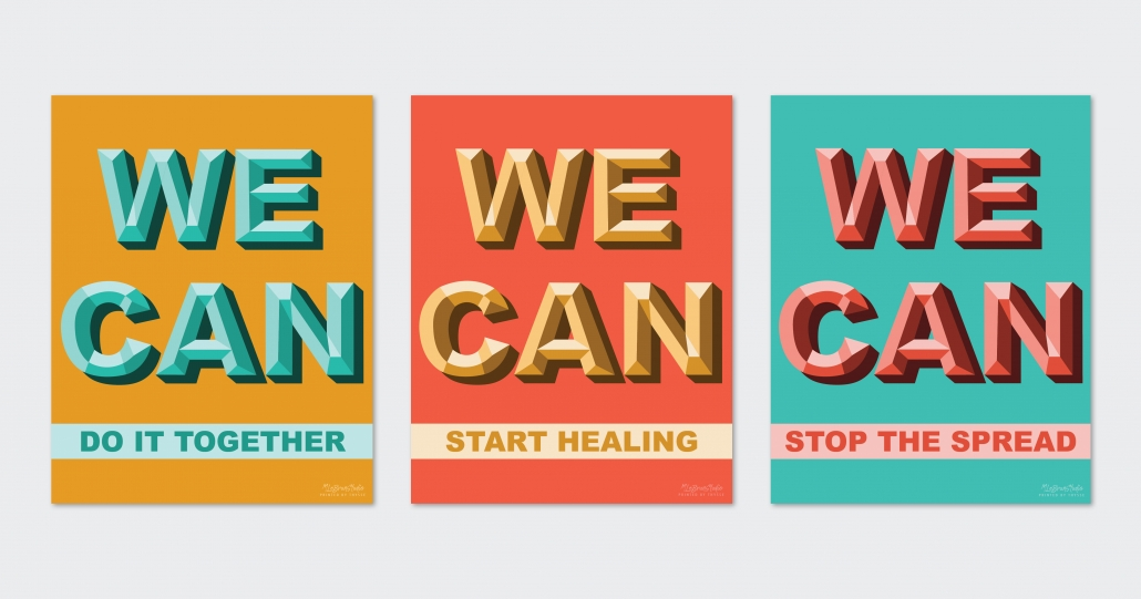 """WE CAN"" poster series"